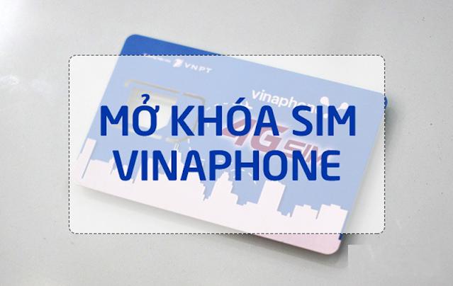 Hướng dẫn mở khóa sim Vinaphone