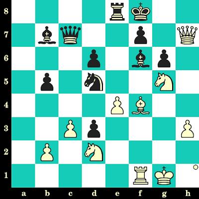 Les Blancs jouent et matent en 2 coups - Alexander Motylev vs David Baramidze, Allemagne, 2012