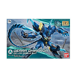 Bandai Gundam HGBD Geara Ghiraraga 25757 PLU 0483144 Model Kit [1 : 144]