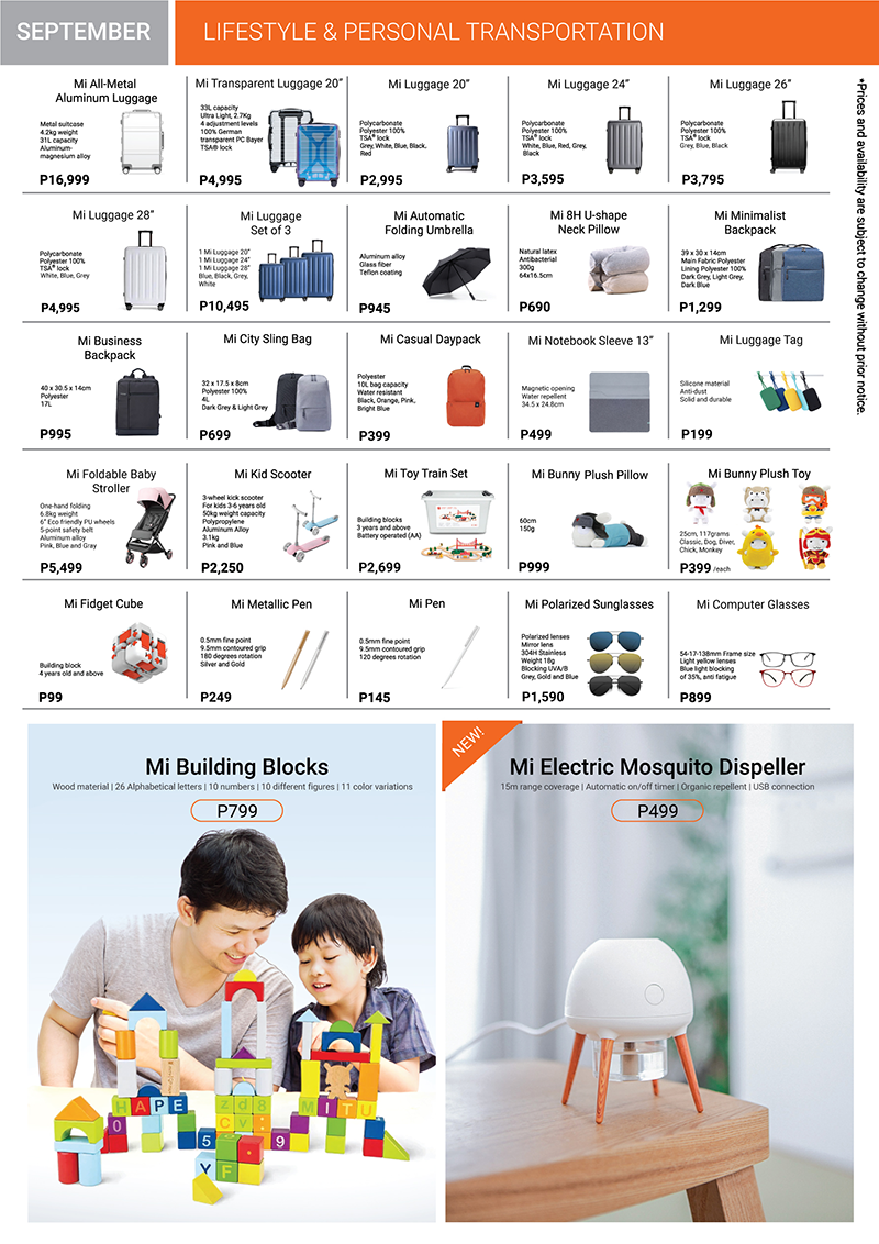 Xiaomi Product Catalog Page 6