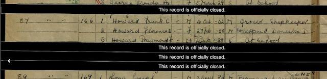 1939 National Registration - March, Cambridgeshire - Florence Howard