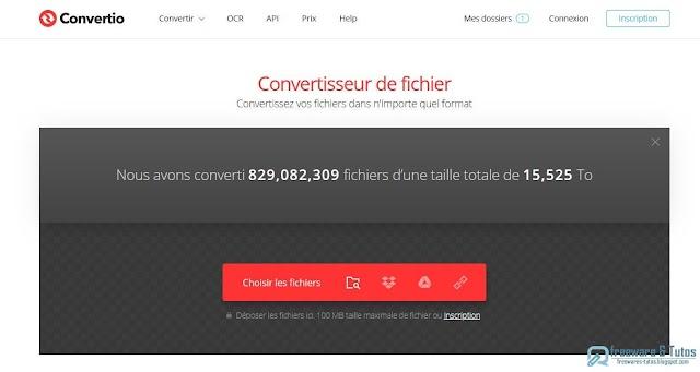 Convertio : un convertisseur de fichiers en ligne multi-formats