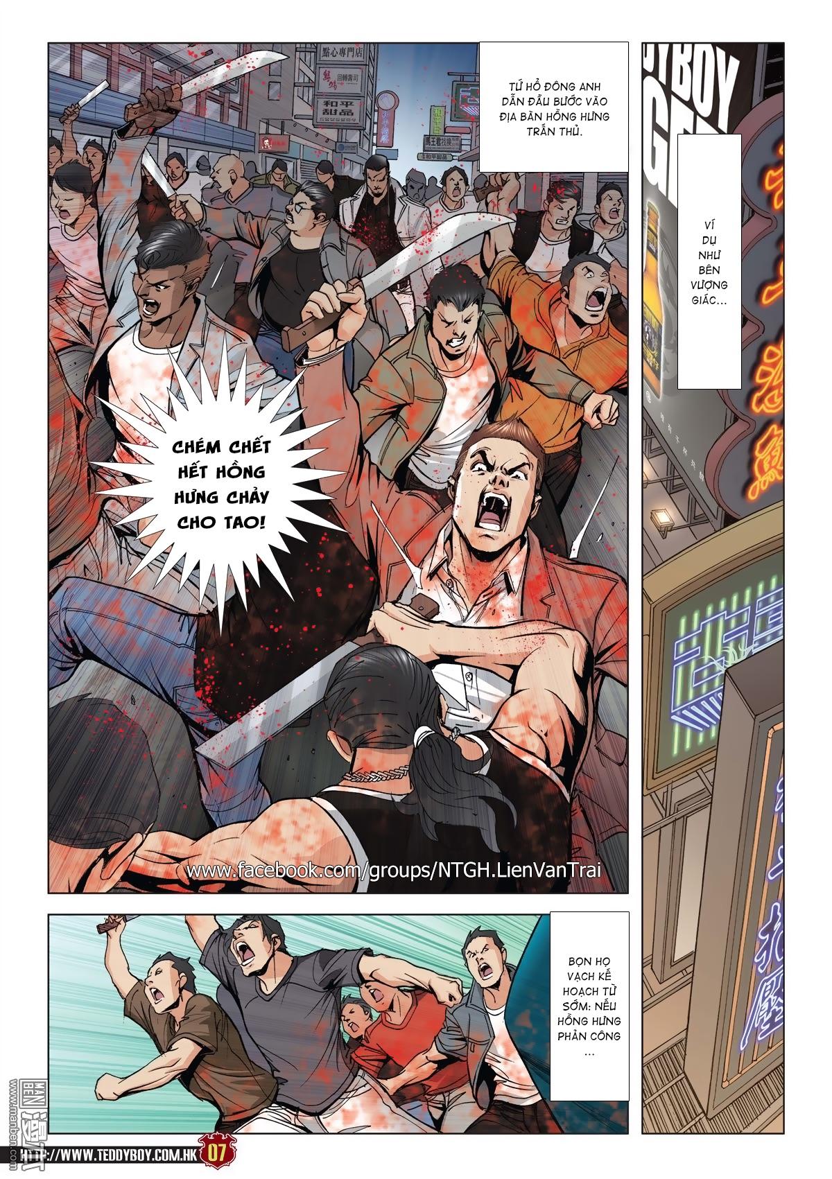 Người Trong Giang Hồ chapter 2015: tọa sơn hổ vs đại phạn trang 4