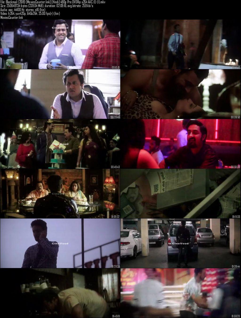 screen shot Blackmail 2018 Hindi HD 300MB
