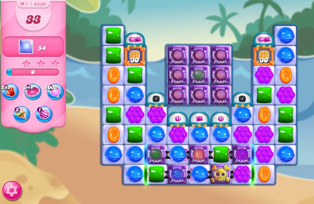 Candy Crush Saga level 8530