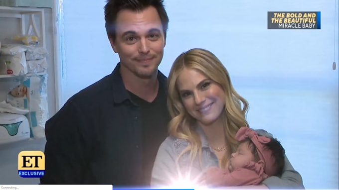 Darin Brooks & Kelly Kruger Share the Story of Their Miracle Baby!