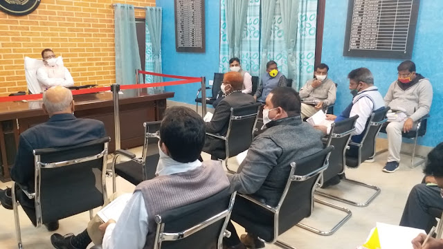 जिला स्तरीय उद्योग बन्धु एवं औद्योगिक सुरक्षा फोरम की बैठक सम्पन्न