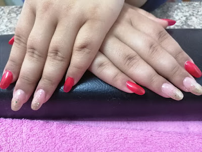 Uñas de Novias Rojas