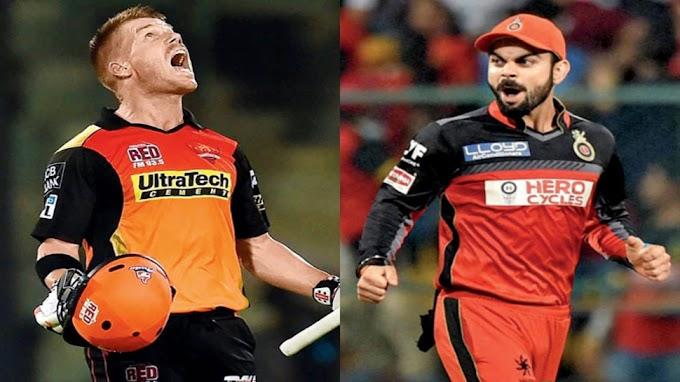 IPL 2020 RCB VS SRH: ये हो सकती है इन दोनों टीमों की संभावित प्लेइंग इलेवन