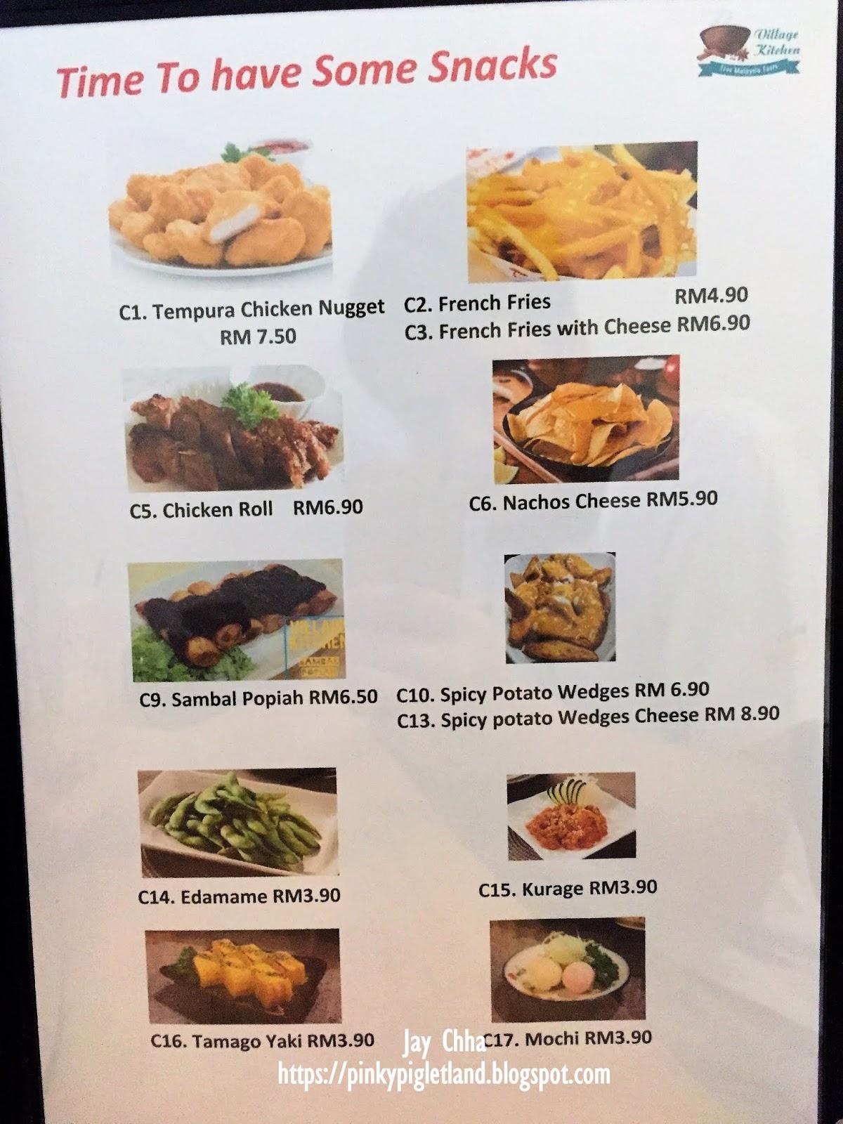 Village Kitchen Solaria Square Bayan Lepas Penang