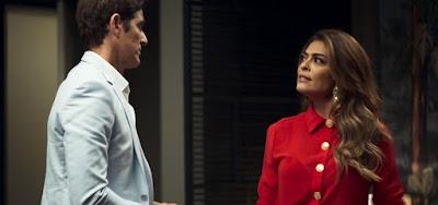 Régis (Reynaldo Gianecchini) tentará convencer Maria da Paz (Juliana Paes) de seu amor em A Dona do Pedaço