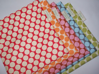 bright color and polka dotted sandwich bags