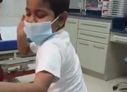 SAUDI BOY DANCING AFTER HIS KIDNEY TRANSPLANT IS SUCCESS
