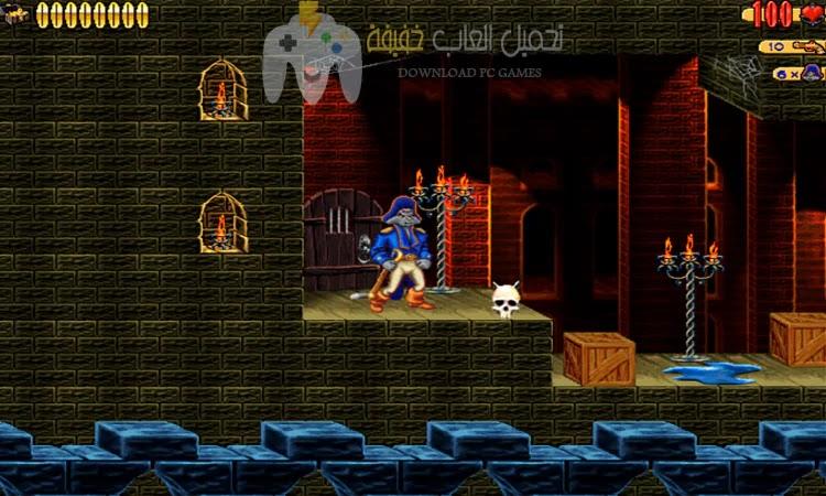 تحميل لعبة كلاو Captain Claw للكمبيوتر مجانًا