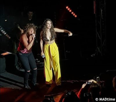 Rosana y Ana Guerra en Madrid