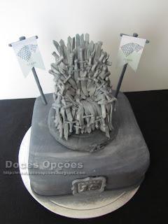 bolo Guerra dos Tronos bragança