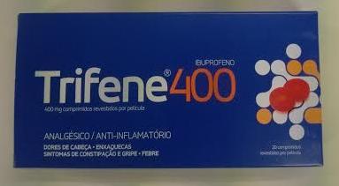 Trifene 200 e Trifene 400 no alivio da dor