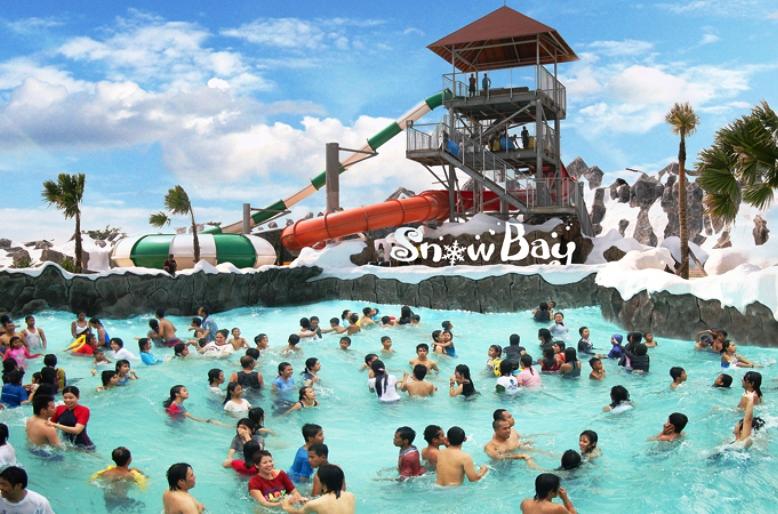 Harga Tiket Masuk Dan Wahana Snowbay Waterpark Tmii Jakarta