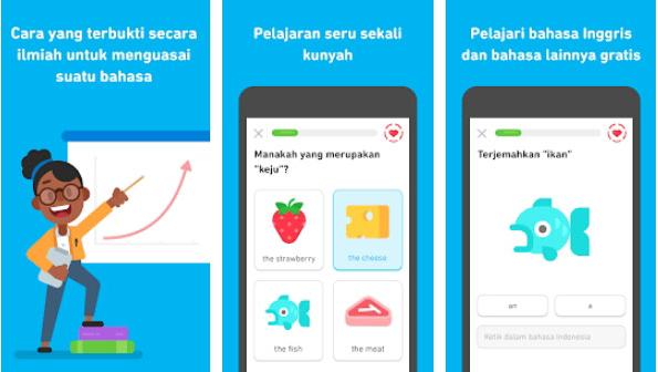 Aplikasi Belajar Bahasa Inggris di Smartphone