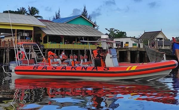 SAR Tanjung Pinang Terima 1 Unit RIB 11 Meter dari Basarnas Pusat