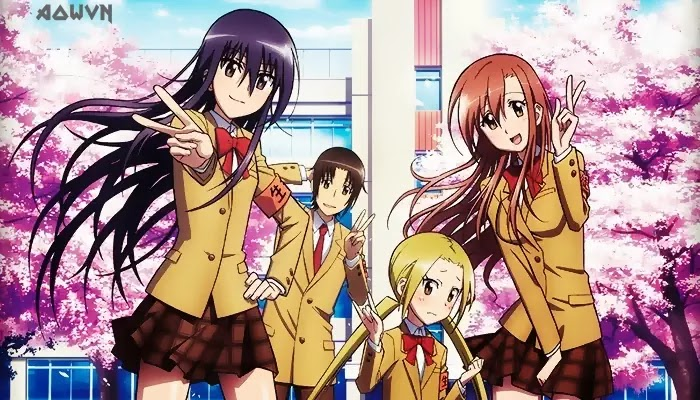 AowVN%2B%25282%2529 - [ Anime 3gp Mp4 ] Seitokai Yakuindomo - SYD SS1 + SS2 + OVA + Movie | Vietsub - Học Đường Hài Bựa