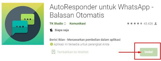 chatbots melalui aplikas auto responder untuk whatsapp