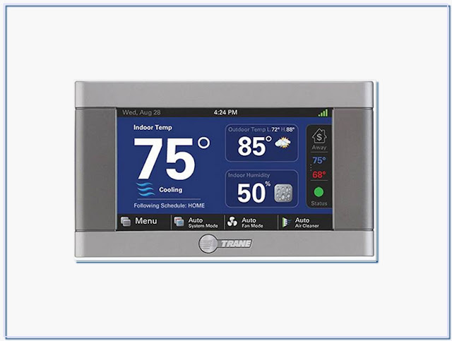 Trane Thermostat Wifi Connection