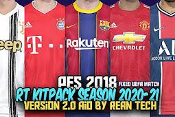 RT Kitpack Season 2020/2021 V2 AIO - PES 2018