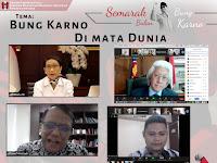 """Diskusi DPP GMNI """"Bung Karno di Mata Dunia"""" Bersama Menlu, Diikuti 22 Dubes RI"""