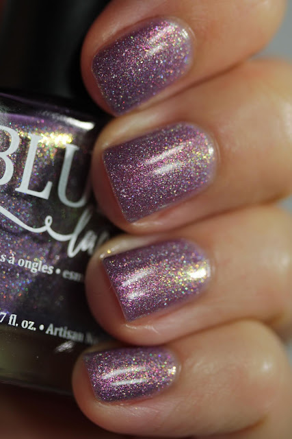 BLUSH Lacquers Bedtime Story swatch by Streets Ahead Style
