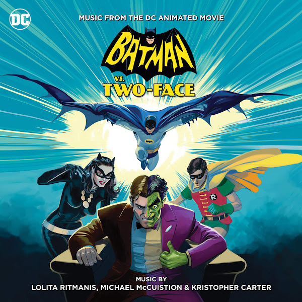 Lolita Ritmanis - Batman vs. Two-Face: Music From the DC Animated Movie Cover