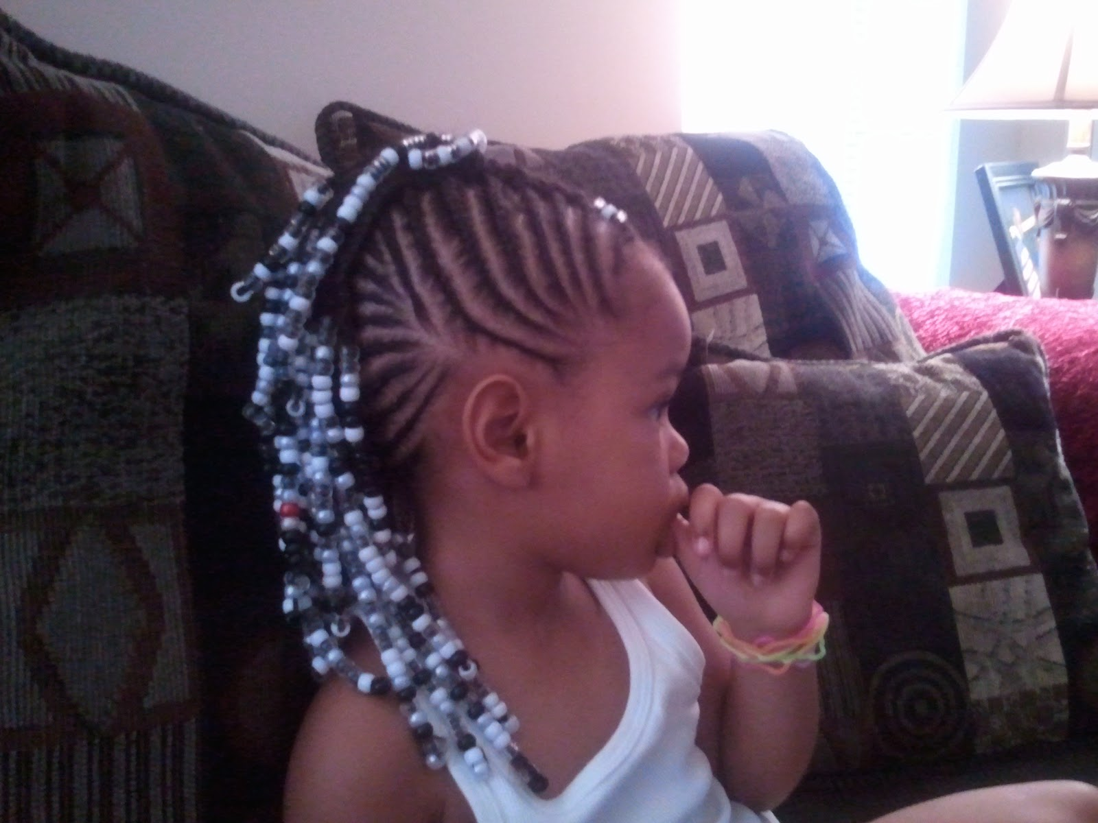 Black kids hairstyles with beads Hair is our crown