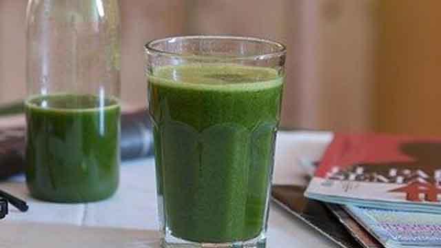 العصير الأخضر للسموم
