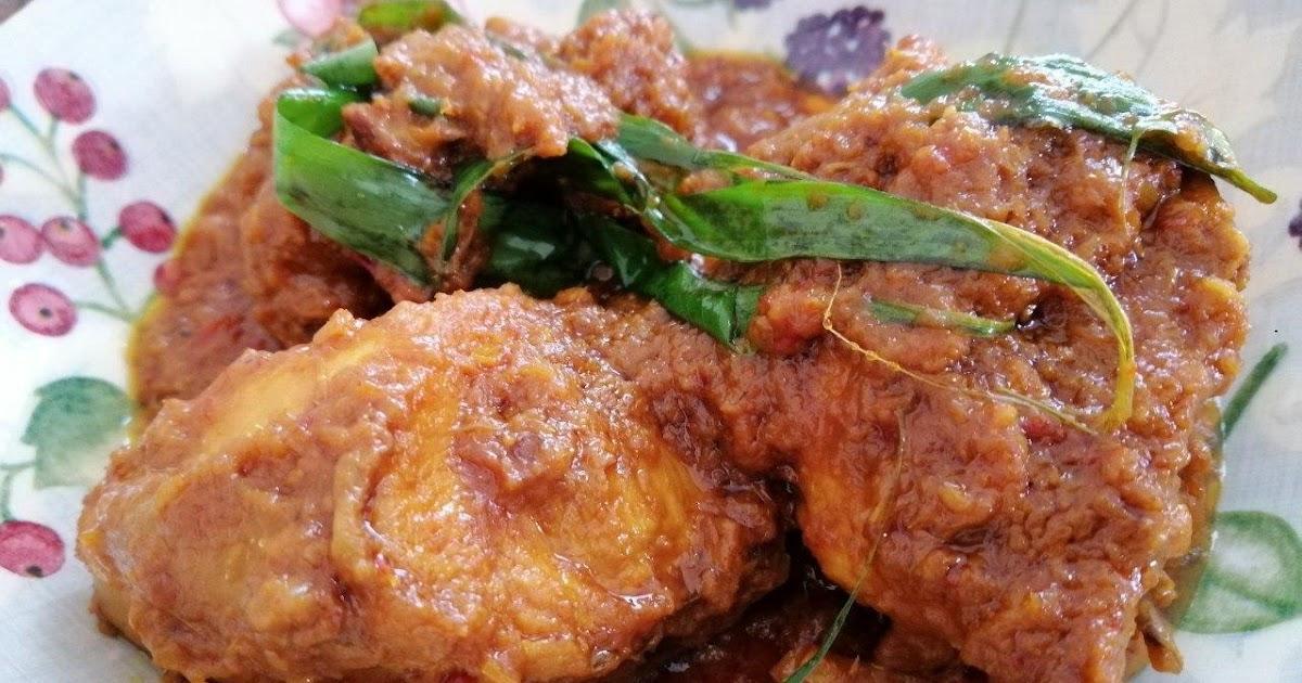 Resepi Rendang Ayam Paling Mudah Untuk Dicuba - Sekejung.com