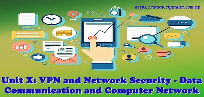 Unit X: VPN and Network Security - Data Communication and Computer Network