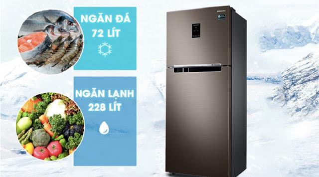 Tủ lạnh Samsung Inverter 299 lít RT29K5532DX/SV