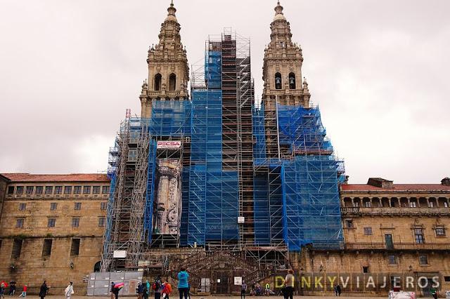 Catedral de Santiago de Compostela. Fachada del Obradoiro