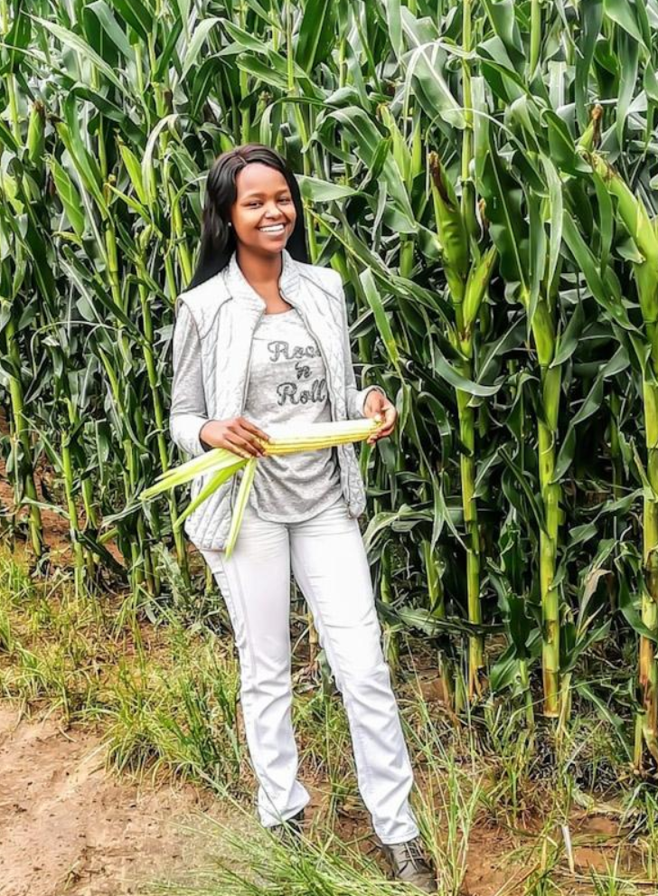 Meet - Njabulo Mbokane, 25 years old South African born inspirational and award-winning Farmer and Agripreneur.