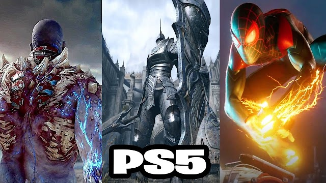 Top 10 New PS5 Games coming in 2020-2021