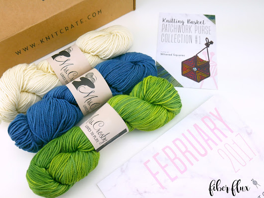 February KnitCrate...Unboxing, Giveaway and Review!