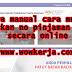 Cara manual cara mudah dapatkan no pinjaman PTPTN secara online