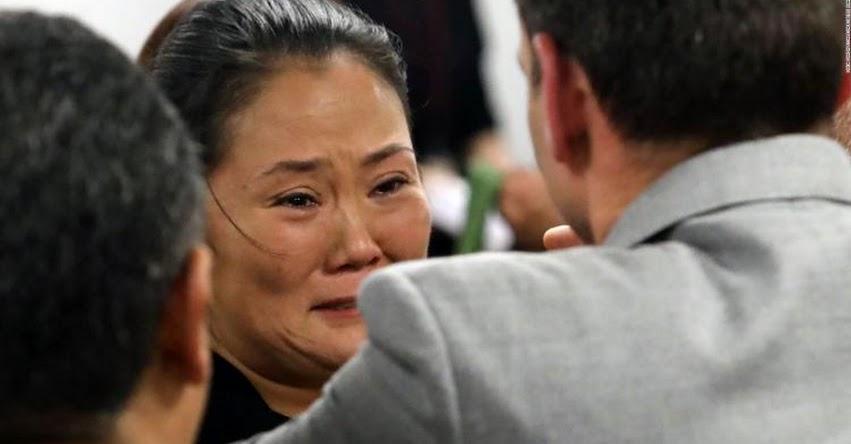 Keiko Fujimori afirma que no delató a aportantes de campaña por temor a represalias