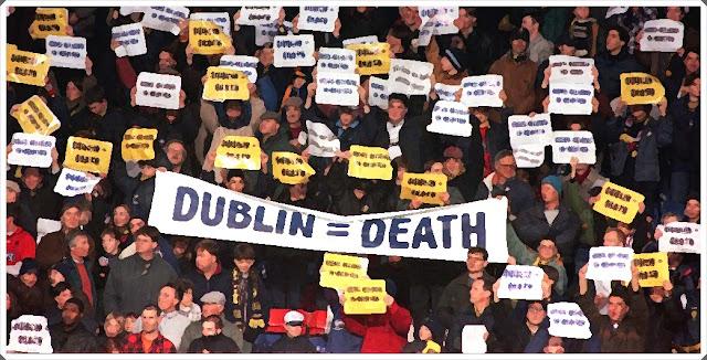 Dublin Dons Wimbledon Protest