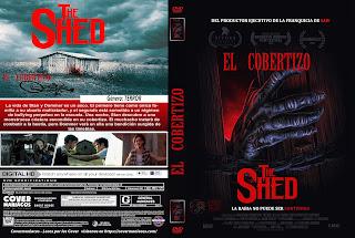 CARATULA EL COBERTIZO-THE SHED 2019[COVER DVD]