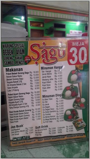 Tempat Makan Yang Enak di Jombang: Menu Bebek Sagu