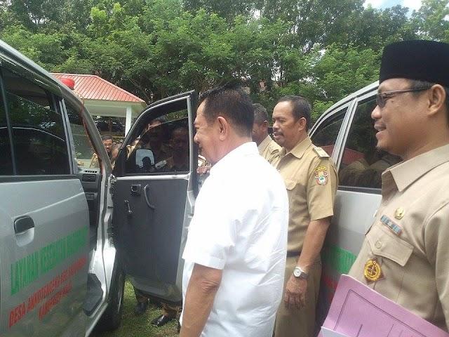 Mobil Ambulance Desa Dievaluasi Ini Pesan Bupati Wajo
