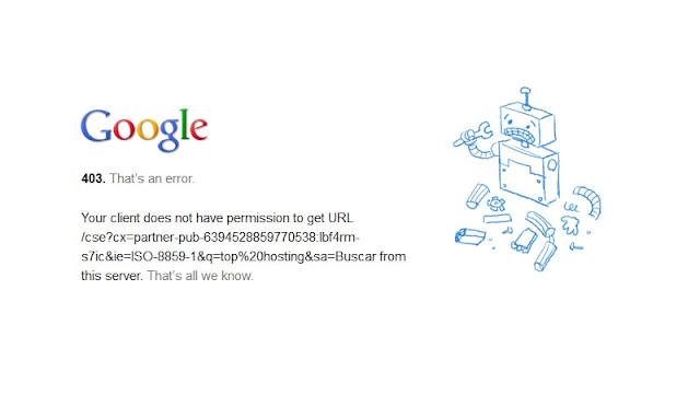Cara Mengatasi Error 403 Forbiden Google Chrome