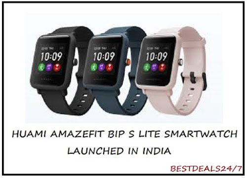 Huami Amazfit Bip S Lite Smartwatch launched in India