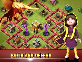 Era of War Clash of epic Clans Apk v2.4 Mod2