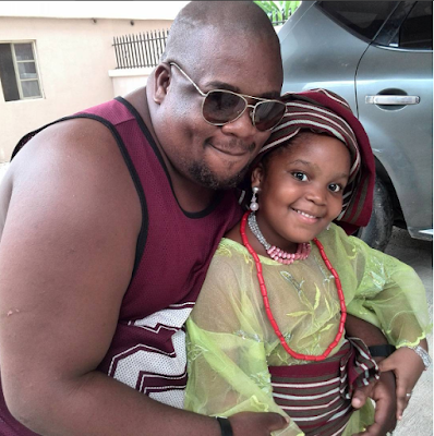 """Please leave my 8-year-old daughter out of her mom's personal life,"" Malcolm, BBN contestant, Bisola's babydaddy cries out"